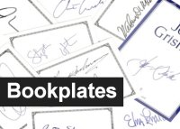 Author Signed Collectible Bookplates