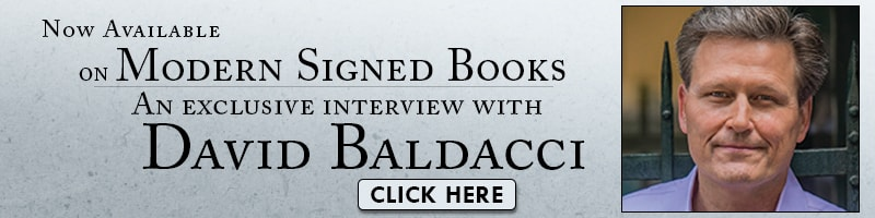 Listen to interviews with David Baldacci