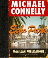 Echo Park by Michael Connelly Signed Limited Edition