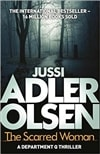 Adler-Olsen, Jussi | Scarred Woman, The | Signed UK First Edition Book