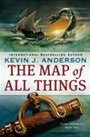 author signed 1st edition Map of All things by Kevin J. Anderson