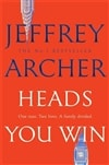 Heads You Win by Jeffrey Archer | Signed UK First Edition Copy