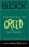 Speaking of Greed | Block, Lawrence | Signed First Edition Book