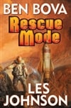 Bova, Ben & Johnson, Les / Rescue Mode / Double Signed First Edition Book