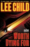 book review Worth Dying for by Lee Child
