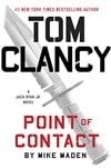 Maden, Mike (as Tom Clancy) | Point of Contact | Signed First Edition Book