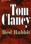 signed Tom Clancy Red Rabbit