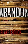 Abandon by Blake Crouch signed book