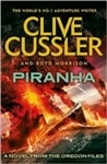 Cussler, Clive & Morrison, Boyd - Piranha (Double-Signed UK Edition)
