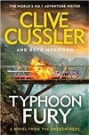 Cussler, Clive & Morrison, Boyd | Typhoon Fury | Double Signed UK Edition Book