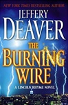 autographed book The Burning Wire by Jeffery Deaver