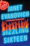Signed Janet Evanovich Sizzling Sixteen