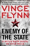 Enemy of the State by Kyle Mills (as Vince Flynn) Signed First Edition Book