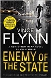 Enemy of the State by Kyle Mills (as Vince Flynn) Signed First Edition UK Book