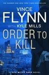 Mills, Kyle (as Flynn, Vince) | Order to Kill | Signed First Edition UK Book