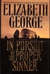 George, Elizabeth / In Pursuit Of The Proper Sinner / Signed First Edition Book