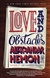 Hemon, Aleksandar - Love and Obstacles (Signed First Edition)