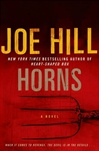 Joe Hill Horns signed and limited edition book