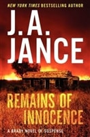 Jance, J.A. - Remains of Innocence (Signed, 1st)