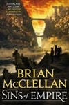 McClellan, Brian | Sins of Empire | Signed First Edition Book
