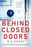 Paris, B.A. | Behind Closed Doors | Signed First Edition Book