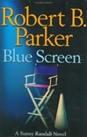 Signed Blue Screen by Robert B. Parker