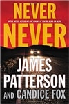 Patterson, James & Fox, Candice | Never Never | Double-Signed First Edition Book