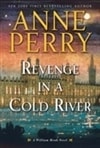Revenge in a Cold River | Perry, Anne | Signed First Edition Book