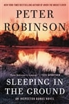 Robinson, Peter | Sleeping in the Ground | Signed First Edition Book