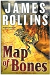 Map of Bones | Rollins, James | Signed First Edition Book