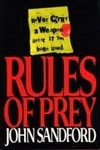 Sandford, John - Rules of Prey (Signed First Edition)