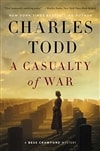Todd, Charles | Casualty of War, A | Signed First Edition Book