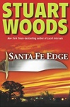 signed Santa Fe Edge by Stuart Woods