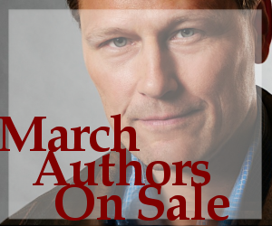 March Release Authors on Sale