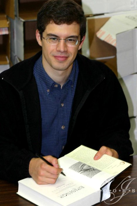 Author Christopher Paolini