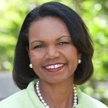 Author Condoleezza Rice