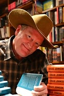 Craig Johnson signs for VJ Books