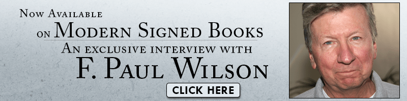 Listen to interviews with F. Paul Wilson