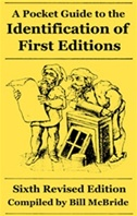 Identification of First Editions, Pocket Guide