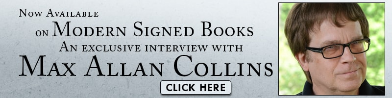 Listen to interviews with Max Alan Collins