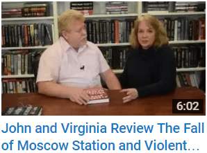 VJ Books reviews FALL OF MOSCOW STATION and VIOLENT CRIMES