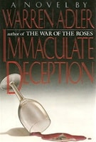 Immaculate Deception | Adler, Warren | Signed First Edition Book