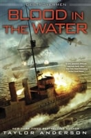 Anderson, Taylor | Blood in the Water | Signed First Edition Book