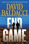 End Game by David Baldacci Signed First Edition Book