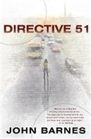 Directive 51 | Barnes, John | Signed First Edition Book