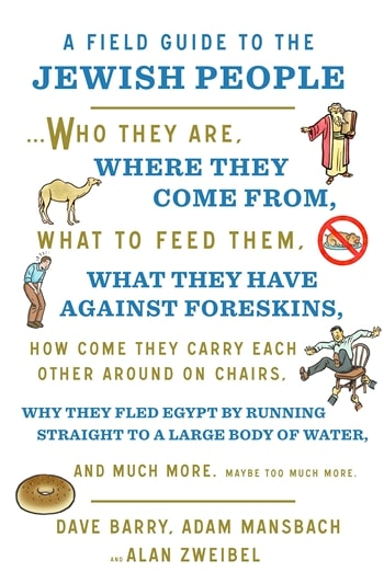 A Field Guide to Jewish People by Dave Barry & Adam Mansbach