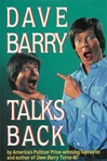 Dave Barry Talks Back | Barry, Dave | Signed First Edition Book