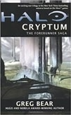 Bear, Greg - Halo: Cryptum (Signed First Edition)
