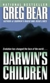 Darwin's Children | Bear, Greg | Signed Bookclub Edition Book