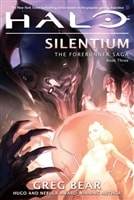Halo: Silentium | Bear, Greg | Signed First Edition Book